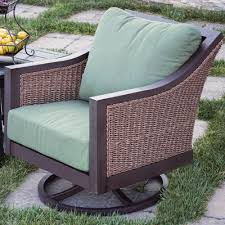 Royal Garden Outdoor Furniture by Royal Garden Biscarta Swivel Lounge Rocking Chair With Cushions
