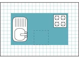 kitchen island layout dimensions latest kitchen island size guide