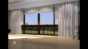 curtain tracks with blockout roller blinds youtube