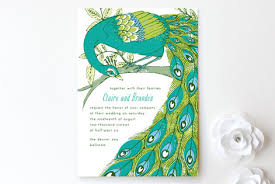 peacock wedding invitations peacock wedding invitations by 2birdstone minted