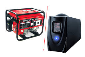 earthquake generator uninterruptible power supply or a generator which is better