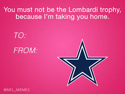 Valentine Card Meme - here s this year s batch of hilarious nfl valentine s day cards