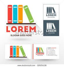 vector logo template stack books logo stock vector 329254136