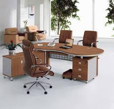 Executive Desks Modern Modern Brown Wood Modern Executive Desks Brown Swivel
