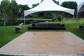 outdoor floor rental suburban party rental tents tables chairs inflatables and more