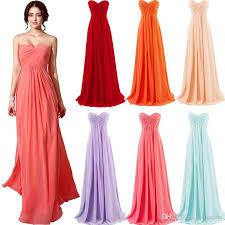 cheap 2015 coral blue lavender mint blush red bridesmaid dresses