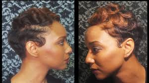 soft waves for short black hair how to watch how i finger wave and curl my short hair youtube