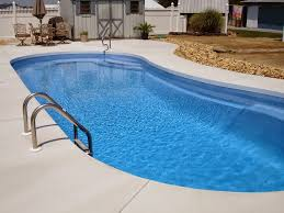 Inside Swimming Pool by How Do Pool Professionals Pour Sidewalks Around Your Vinyl Liner