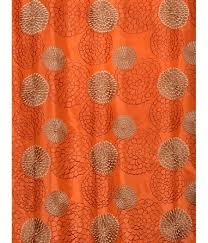 firemol get zen garden harvest embroidered faux silk curtains