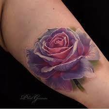 33 best violet purple rose tattoo images on pinterest purple