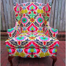 Patterned Armchair Launch Chair Design Ideas Eftag