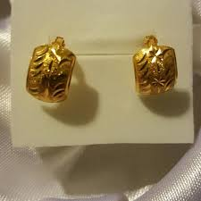 gold clip on earrings find more 21k saudi gold clip earrings for sale at up to 90