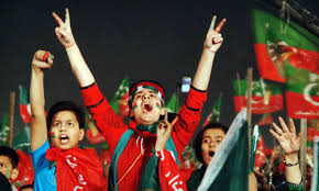 thanksgiving slogans supporters rally in strength to attend pti u0027s u0027thanksgiving