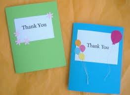 custom thank you cards diy custom thank you card ideas