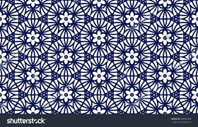 abstract seamless pattern moroccan style vector stock vector