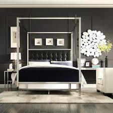 homesullivan taraval black queen canopy bed 40e739bq 1bdcpy the