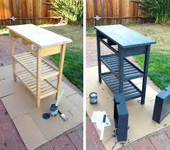 how to refinish a desk diy re finish your ikea furniture http www bohobunnie com diy