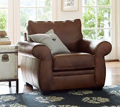 Pottery Barn Armchair Pottery Barn Leather Sofas Sectionals Chairs 15 Off Sale