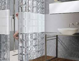 glass block designs for bathrooms glass block showers