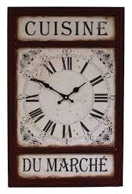horloge cuisine horloge decoration cuisine