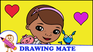doc mcstuffins coloring pages for kids klinika dla pluszakow