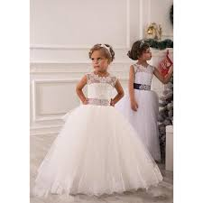 robe de fille de fleur pour mariage robe de fête taille empire - Robe Fille Pour Mariage