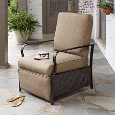 Lazy Boy Recliner La Z Boy Outdoor Ashlynn Recliner In Tan Kmart