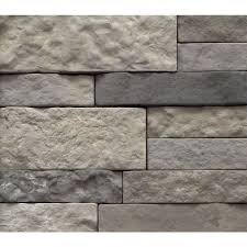 Interlocking Concrete Blocks Lowes by Shop Airstone Spring Creek Concrete Stone Veneer At Lowes Com