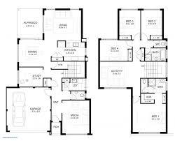 modern house floor plan 2 story house plans contemporary modern plan whispered traintoball