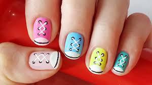 shoe nails sneakers nail art for short nails nail art for