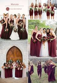 fall colors for weddings top 10 colors for fall bridesmaid dresses 2015 tulle chantilly