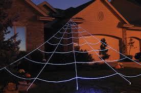 mega yard spider web