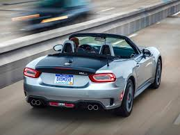 2017 Fiat 124 Spider Abarth Silver Photos Photo Review 2017