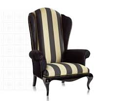 Wingback Armchair Uk Leather Wingback Chair Best Wingback Chair Etsy With Leather