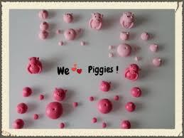 Edible Eyes Cake Decorating Edible Fondant Pigs Cake Toppers For Swimming Pigs In Diy Kit Kat