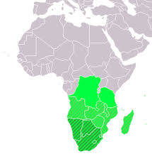 africa map study southern africa