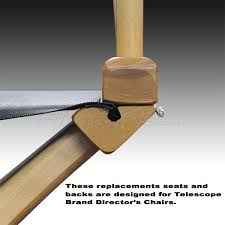 Canvas Deck Chair Plans Pdf by Telescope Directors U0027 Chair Replacement Seats U0026 Backs Filmtools