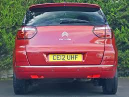 used diablo red metallic citroen c4 picassofor sale dorset