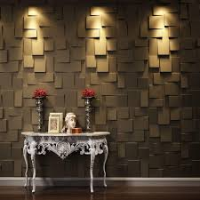 threedwall 27 sq ft plant fibers wainscot wall panels the home