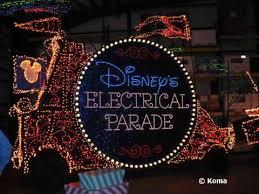 electric light parade disney world street electrical parade