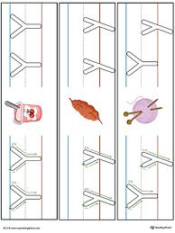 lowercase letter y styles worksheet color myteachingstation com