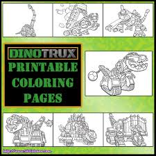 dinotrux printable coloring pages birthday ideas pinterest