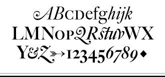 font bureau fonts big caslon font bureau