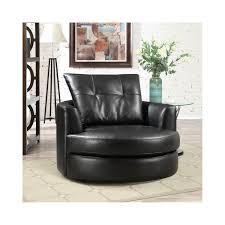 round leather swivel chair round designs