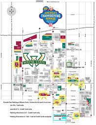 detroit s thanksgiving day parade 2016 route parking and