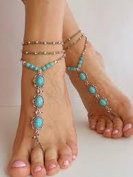 barefoot sandals wedding wedding barefoot sandals blue turquoise hippie