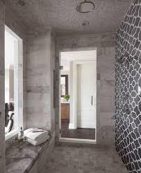 double shower design ideas bathroom transitional with shower shelf