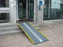 portable handicap ramp suitcase ramps for wheelchairs