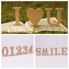 Home Letters Decoration by Online Get Cheap Free Standing Wood Letters Aliexpress Com