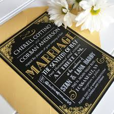 gatsby invitations great gatsby wedding invitations great gatsby wedding invitations